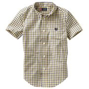 Chaps Tattersall-Plaid Button-Down Shirt - Boys 4-7