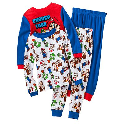 Super Mario 4-pc. Pajama Set - Boys' 8-20