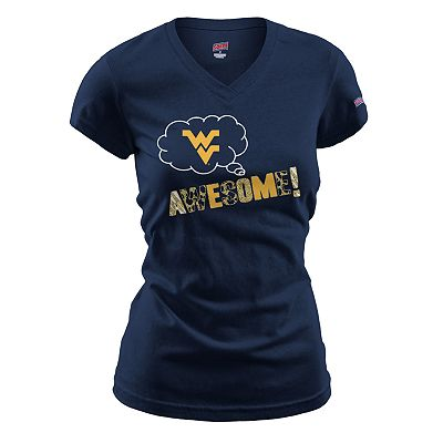 Soffe West Virginia Mountaineers Awesome Tee - Juniors'