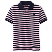 Chaps Thin-Striped Polo - Boys 4-7