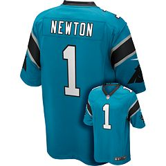 Men's Nike Carolina Panthers Cam Newton Game NFL Replica Jersey