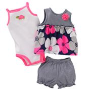 Carter's Striped and Floral Top Set - Baby