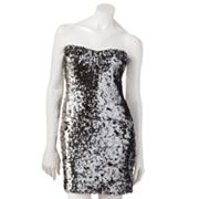 Lily Rose Sequin Tube Dress - Juniors