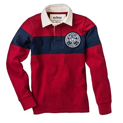 Urban Pipeline Chest Stripe Rugby Polo - Boys 8-20
