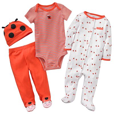 Carter's Ladybug Sleep and Play Set - Baby