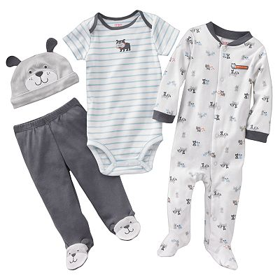 Carter's Dog Sleep and Play Set - Baby