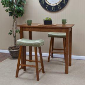 Carolina Cottage Antique Bar Table