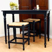 Carolina Cottage 3-pc. Hawthorne Bar Table Set