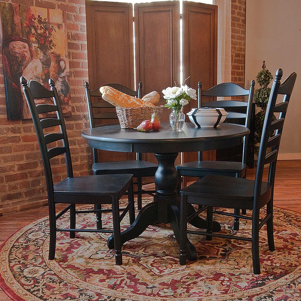 Carolina Cottage Winslow Pedestal Dining Table