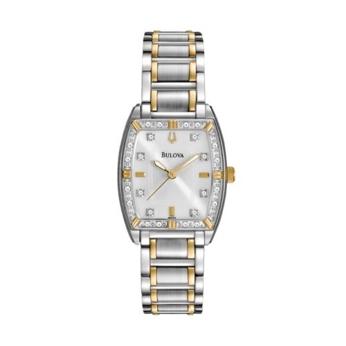 Bulova Watch - Women's Highbridge Two Tone Stainless Steel - 98R159