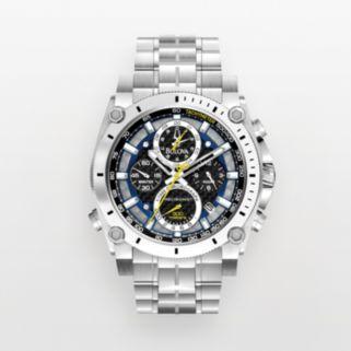Bulova Men's Precisionist Stainless Steel Chronograph Watch - 96B175