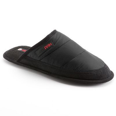 Heat Keep Nylon Slippers - Men