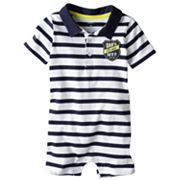 Carter's All-Star Polo Romper - Baby