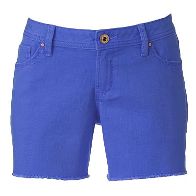 Apt. 9 Frayed Denim Shorts