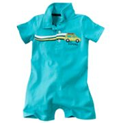 Carter's Big Kahuna Polo Romper - Baby