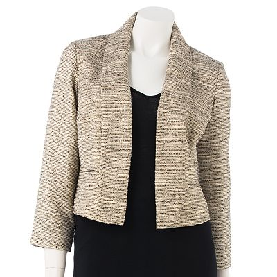 Jennifer Lopez Lurex Crop Blazer
