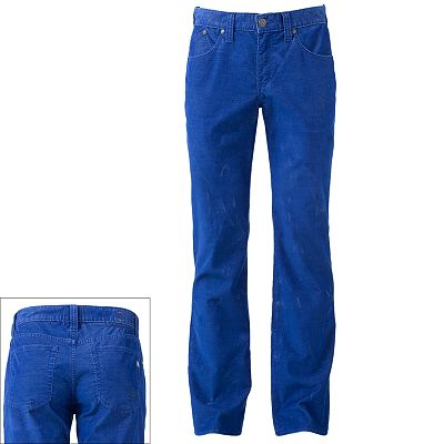Rock and Republic Neil Straight Corduroy Pants