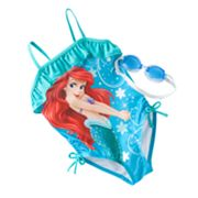 Disney Princess Ariel One-Piece Swimsuit - Girls 4-6x