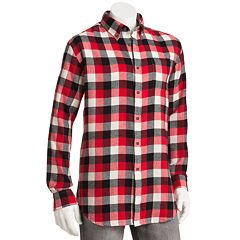 Croft & Barrow® Checked Flannel Casual Button-Down Shirt