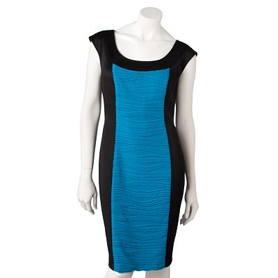 Suite 7 Colorblock Sheath Dress
