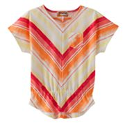 Mudd Chevron Babydoll Top - Girls 4-6x