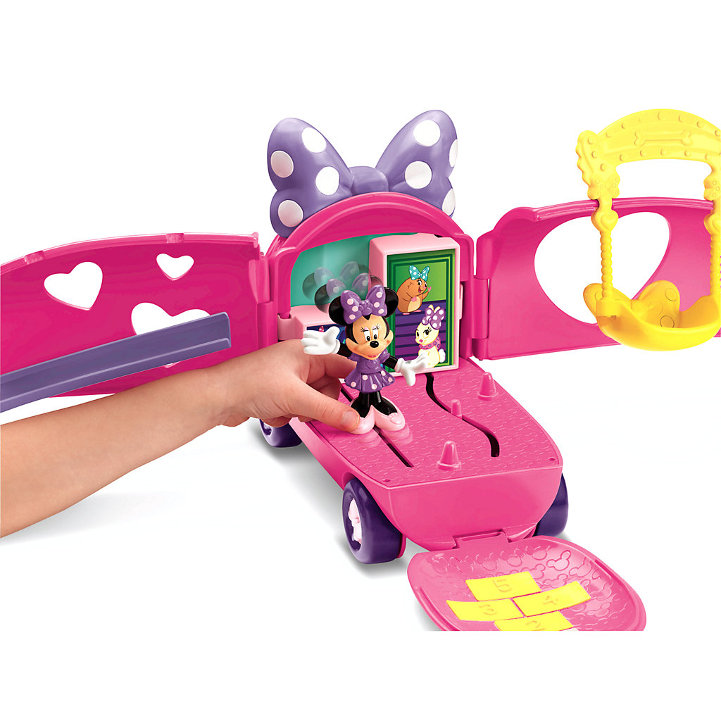 Disney Mickey Mouse and Friends Minnie Mouse Bowtique Minnie's Pet Tour Van by Fisher-Price