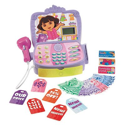 Dora the explorer cash register by fisher price