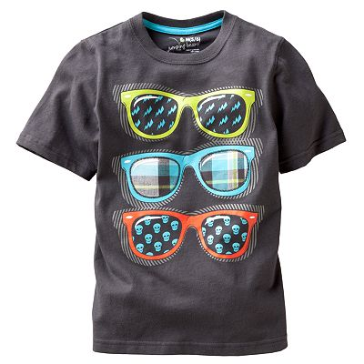 Jumping Beans Glasses Applique Tee - Boys 4-7x