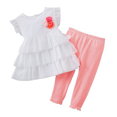 Carter's Tiered Tunic and Leggings Set - Baby