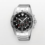 Pulsar Silver Tone Chronograph Watch - PT3209X - Men
