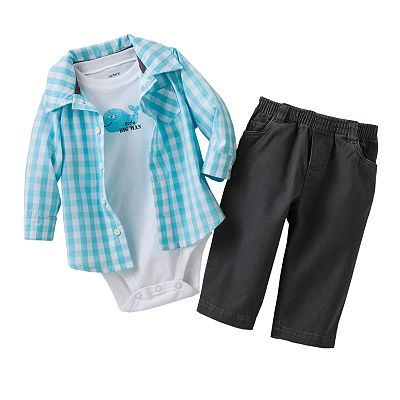 Carter's Whale Shirt Set - Baby