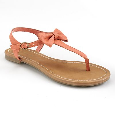 LC Lauren Conrad T-Strap Sandals - Women