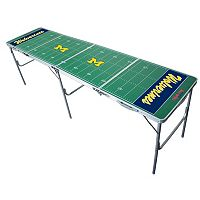 Michigan Wolverines 2' x 8' Tailgate Table