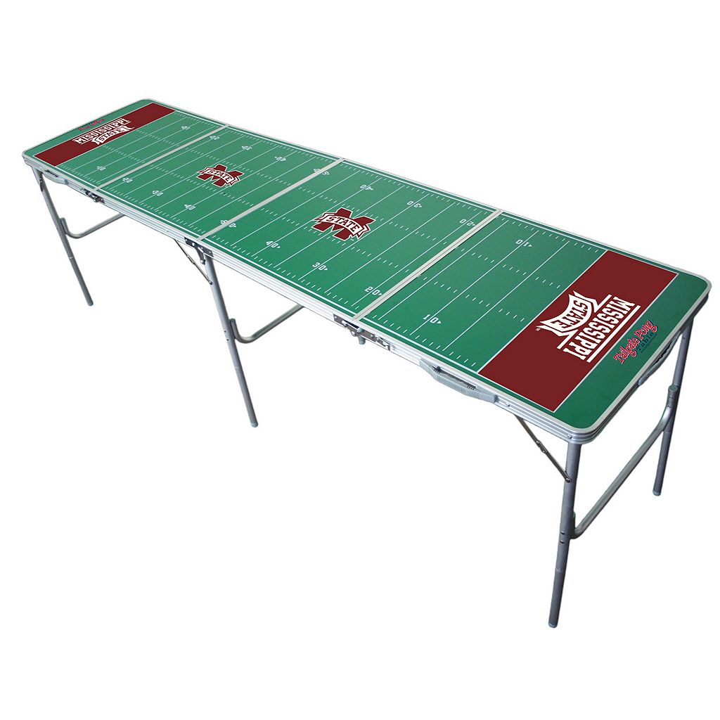 Mississippi State Bulldogs 2' x 8' Tailgate Table
