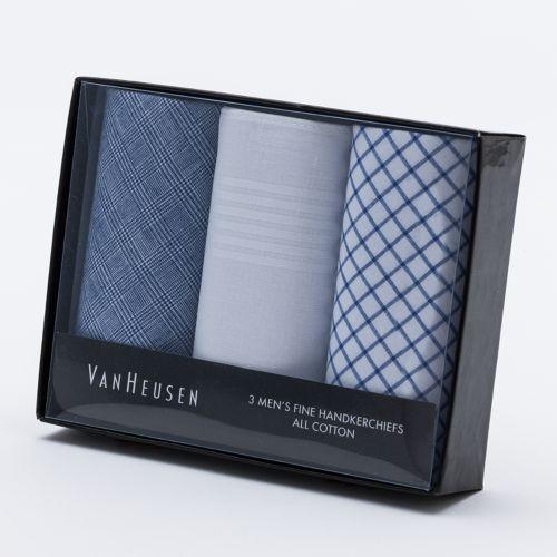Van Heusen 3-pk. Patterned Handkerchiefs