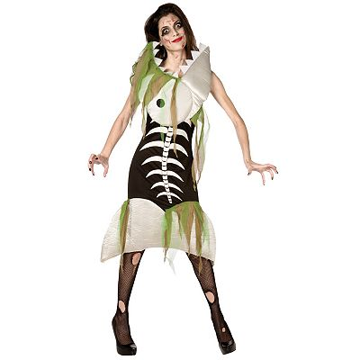 Zombie Fish Costume - Adult