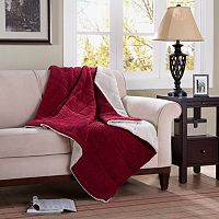 Premier Comfort Corduroy & Berber Down-Alternative Throw