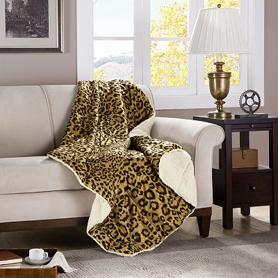 Premier Comfort Cameroon Cheetah Down-Alternative Throw