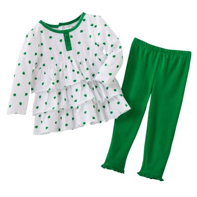 Carter's St. Patrick's Day Top and Leggings Set - Baby
