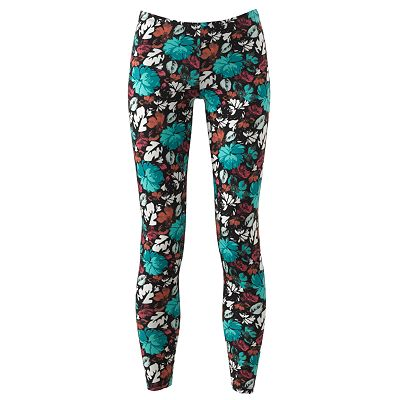 Mudd Floral Leggings - Juniors