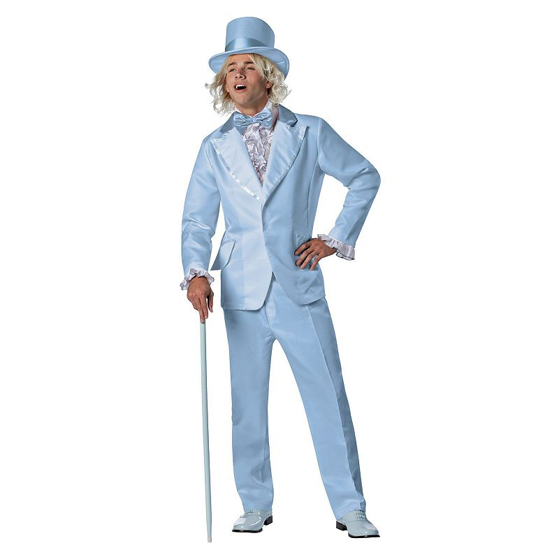 Halloween Costumes | Halloween Dumb & Dumber Harry Tuxedo Costume - Adult (Blue)