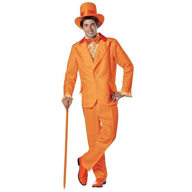 Halloween Costumes | Halloween Dumb & Dumber Lloyd Tuxedo Costume - Adult (Orange)