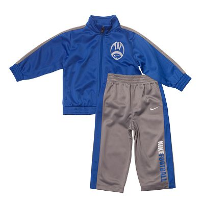 Nike Football Tricot Jacket and Pants Set - Baby