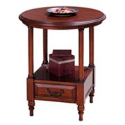 Leick Furniture Round Side Table