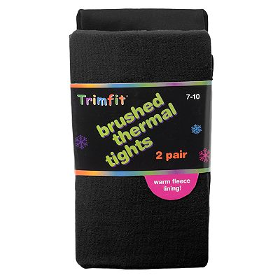 Trimfit 2-pk. Brushed Thermal Tights - Girls