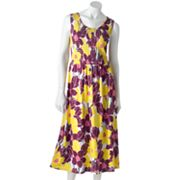 Croft and Barrow Printed Smocked Sundress
