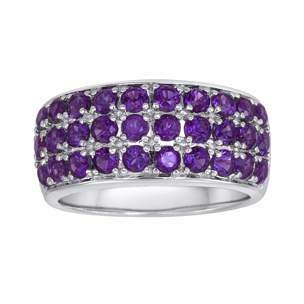 Sterling Silver Amethyst Ring
