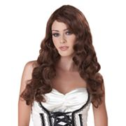Long Curly Costume Wig - Adult