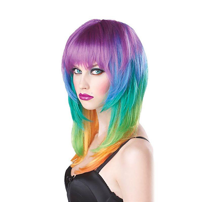 Kaleidoscope Costume Wig - Adult