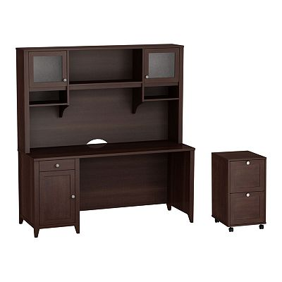 kathy ireland Office by Bush Furniture Grand Expressions 3-pc. Home Office Set